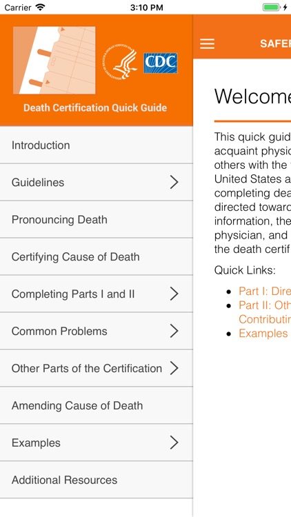 Cause of Death Reference Guide