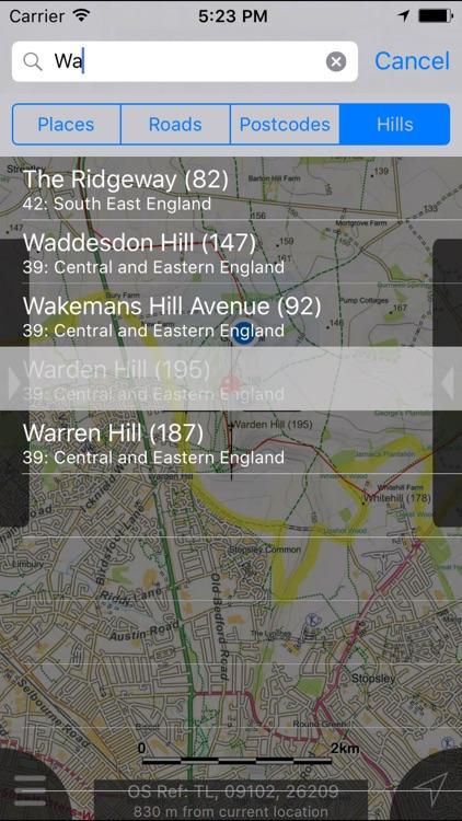 The Chilterns Maps Offline screenshot-3