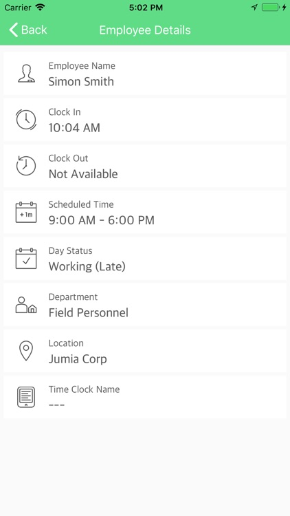 TimeLogix screenshot-8