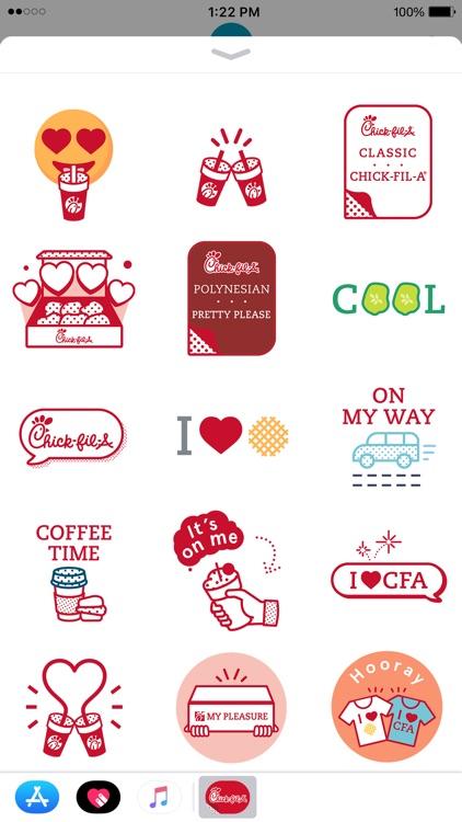 Chick-fil-A Stickers