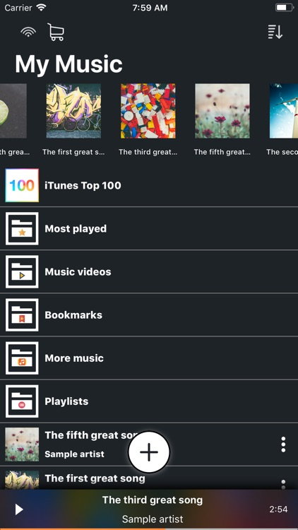 My Music Library