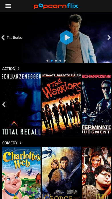 Popcornflix - Movies and TV Screenshots