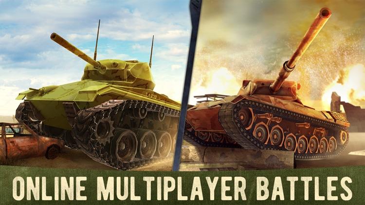 War Machines: 3D Tank Shooting