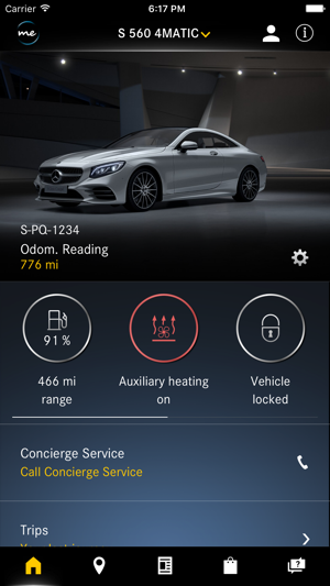 Mercedes me on the app store for Mercedes benz app for iphone