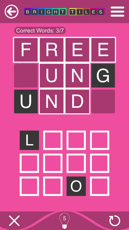 Bright Tiles - Word Puzzles screenshot-5