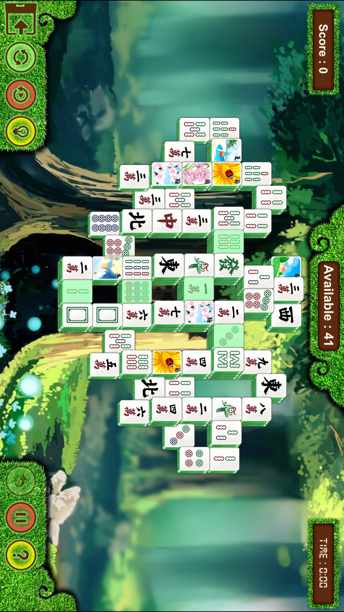 Shanghai Mahjong Solitaire - Classic Puzzle Game Screenshot