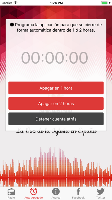 Radio Anglicana España screenshot two