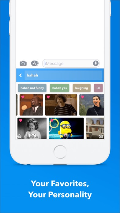Screenshot for GIF Keyboard in United States App Store