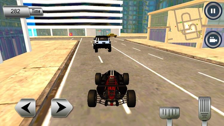 Modern City Traffic Car Drive