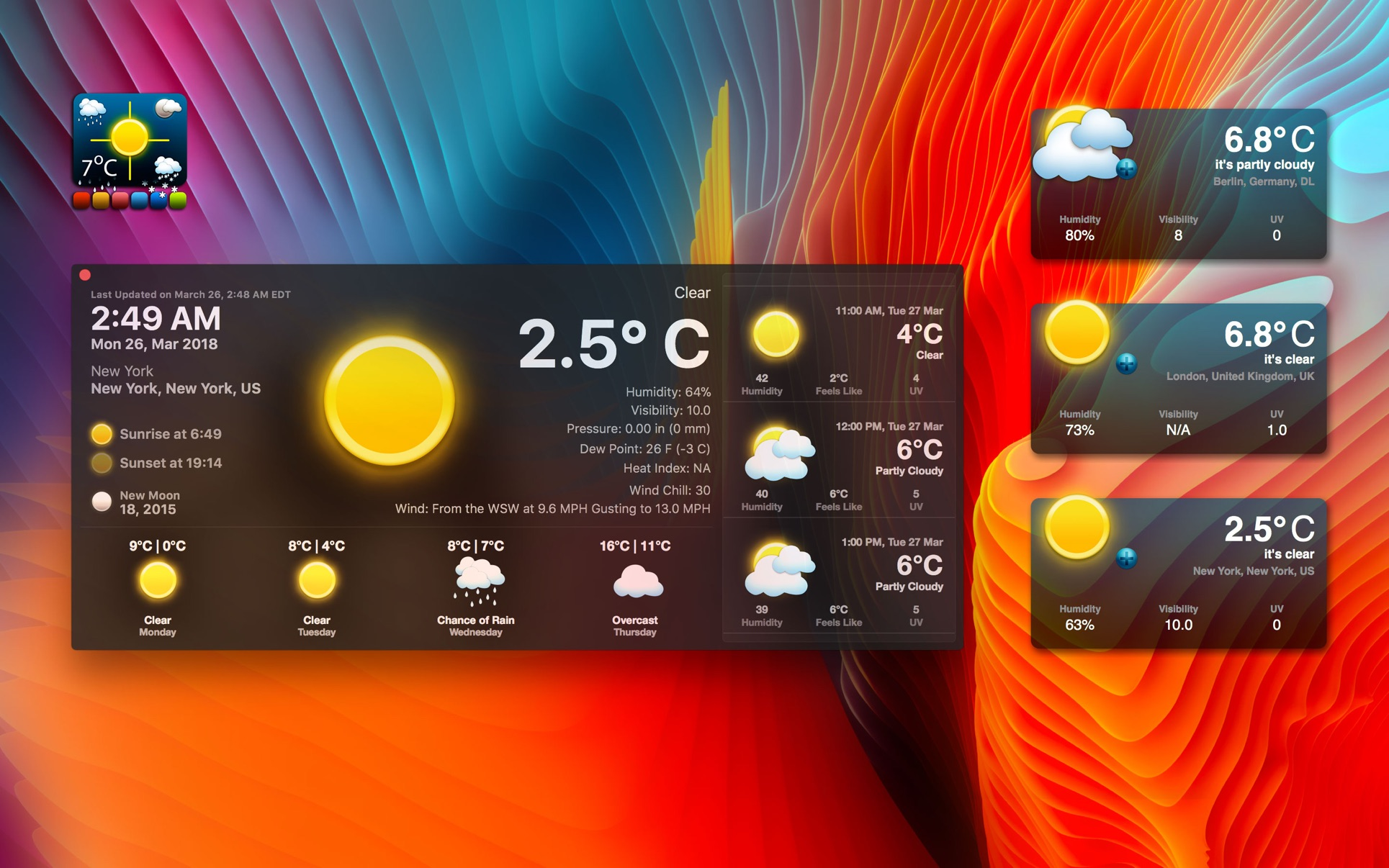 Live Dock Weather on the Mac App Store