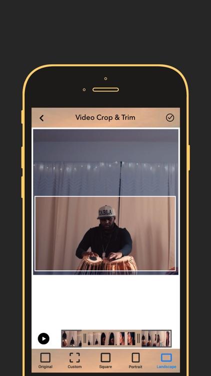 Video Crop & Trim Editor
