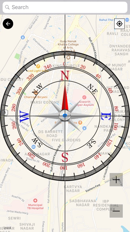 Compass with Maps