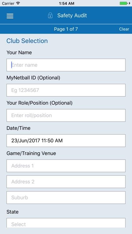 Netball Game Day Checklist screenshot-3