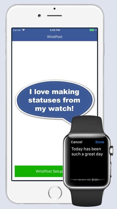 WristPost for Facebook app image