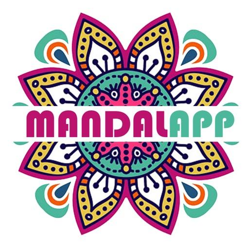Coloring Book Game Mandalapp