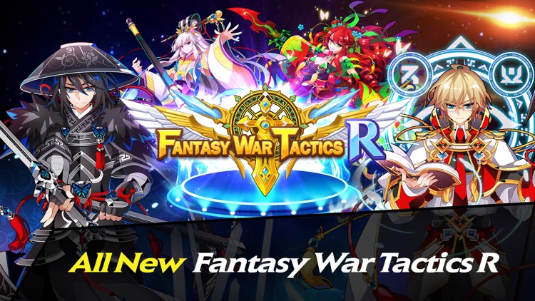 Fantasy War Tactics R screenshot-0