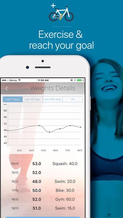 Weight Tracker - BMI calculator, Body Mass Monitor