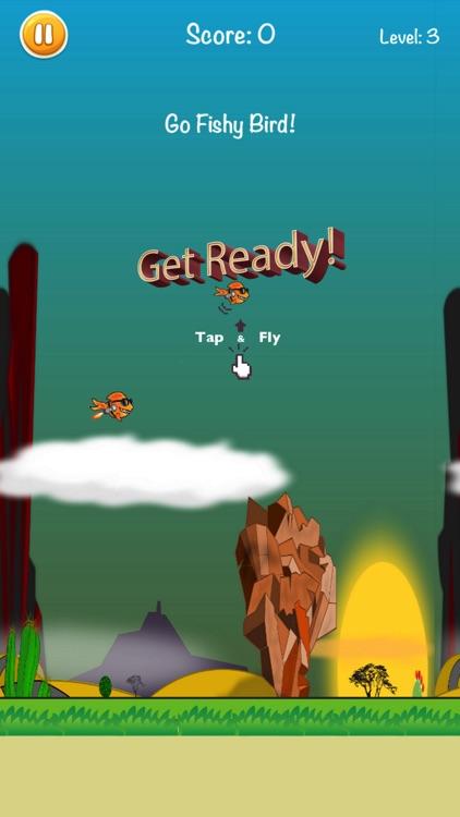 Go Fishy Bird! screenshot-0