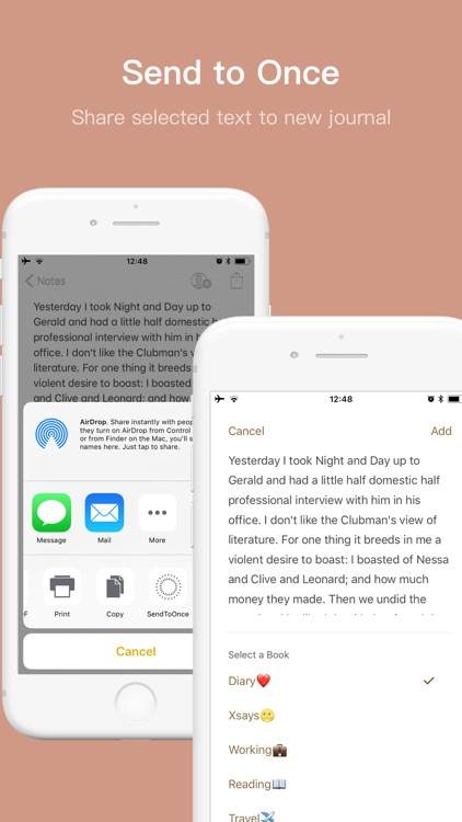 Once - Journal/Diary/Note App screenshot-3