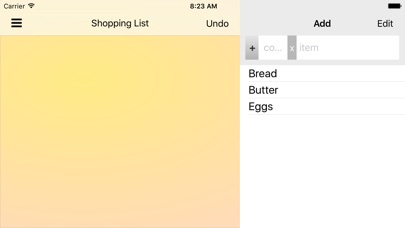 ShopShop - Shopping List screenshot four