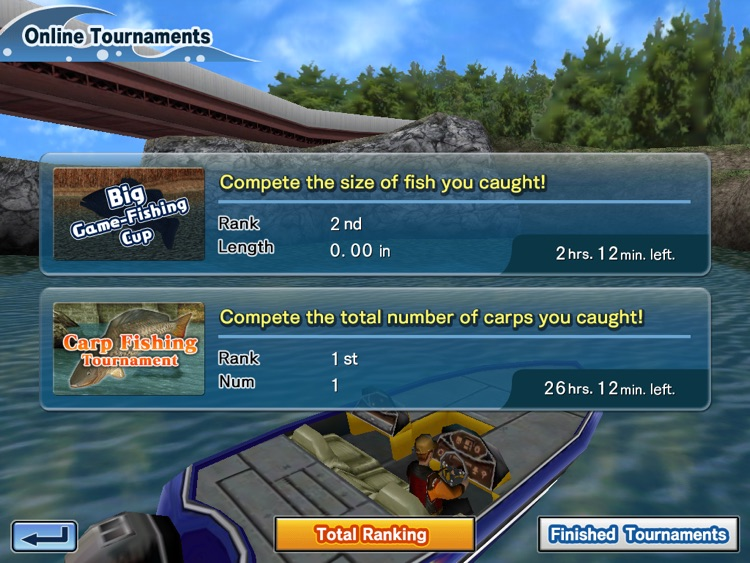 Bass Fishing 3D HD screenshot-1