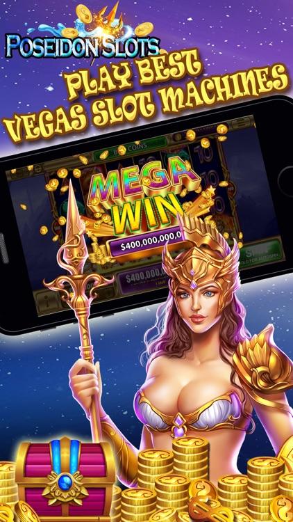 Poseidon Slots - luxury Casino