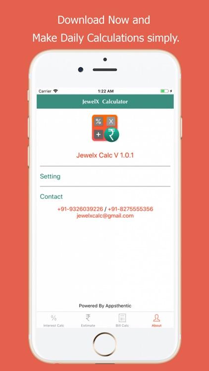 JewelX Calc screenshot-4