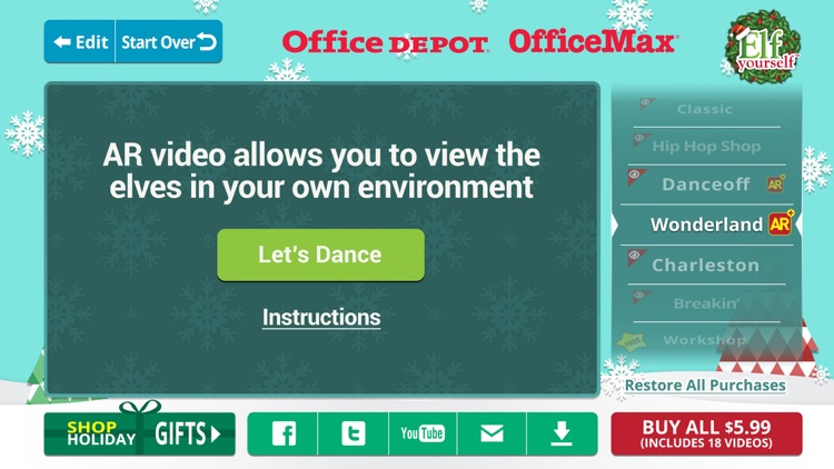 ElfYourself® By Office Depot screenshot-2