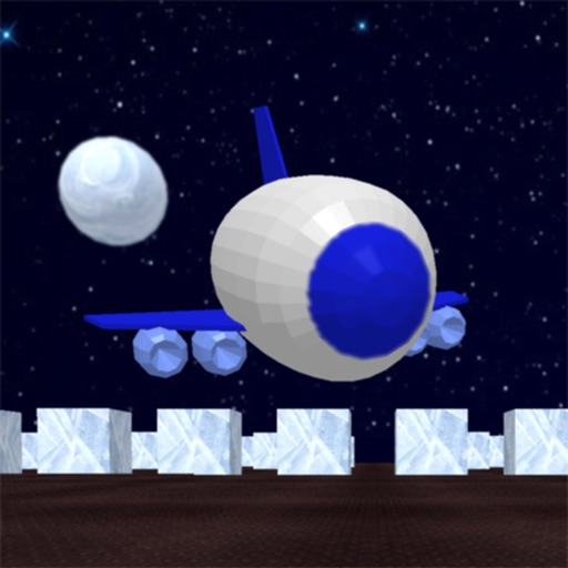 Space shuttle and labyrinth 3D