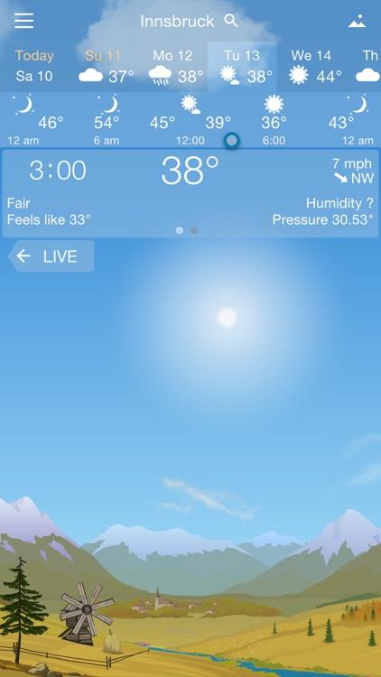 YoWindow Weather screenshot-4