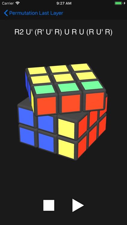 Cube Algorithms Pro screenshot-4