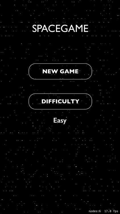 The Space Game!