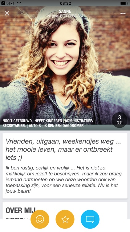 Lexa.nl dating voor singles screenshot-1