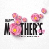 Happy Mothers Day 2018 Sticker