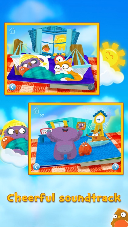 Wake Up Mo! ~ 3D Interactive Pop-Up Book screenshot-4