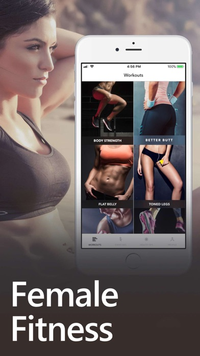 download Female Fitness Women Workout apps 4