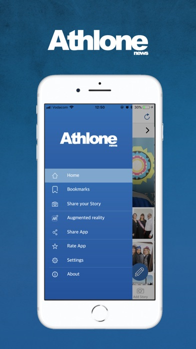 Image of Athlone News for iPhone