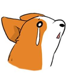 Steadfast Corgi Dog Sticker