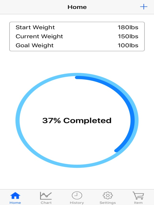 body weight loss tracker with record chart and log on the app store