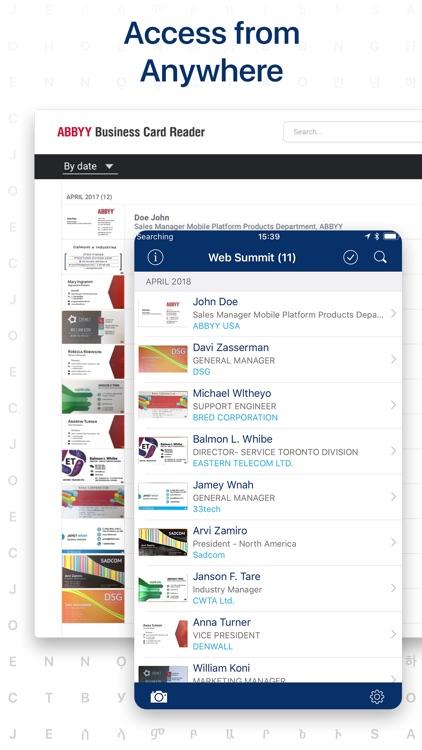 Business Card Scanner app screenshot-4