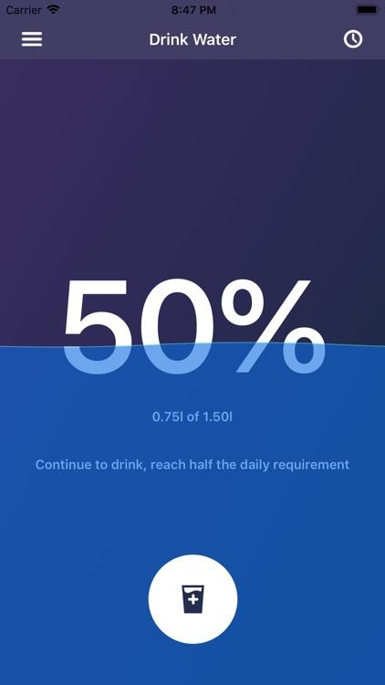 Drink Water - Daily reminder screenshot-0