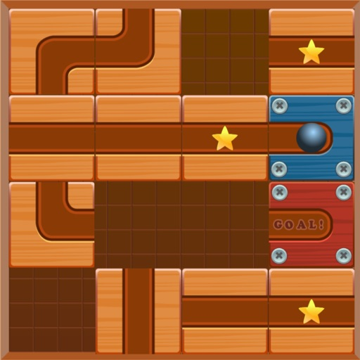 Maze Puzzle - Unblock the Ball