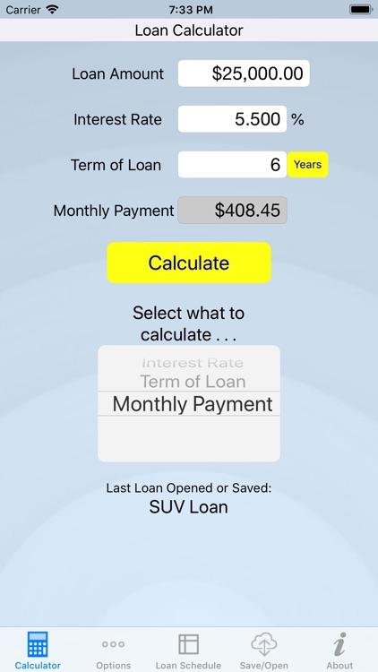 Loan Review - Loan Calculator screenshot-4
