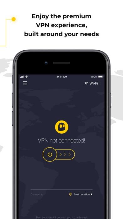 CyberGhost VPN Screenshot