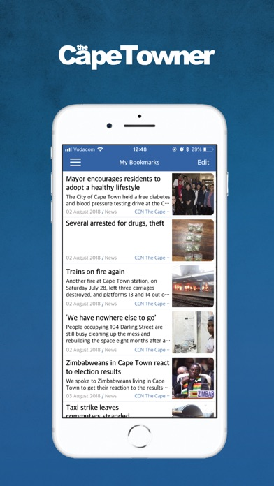 Image of The Capetowner for iPhone