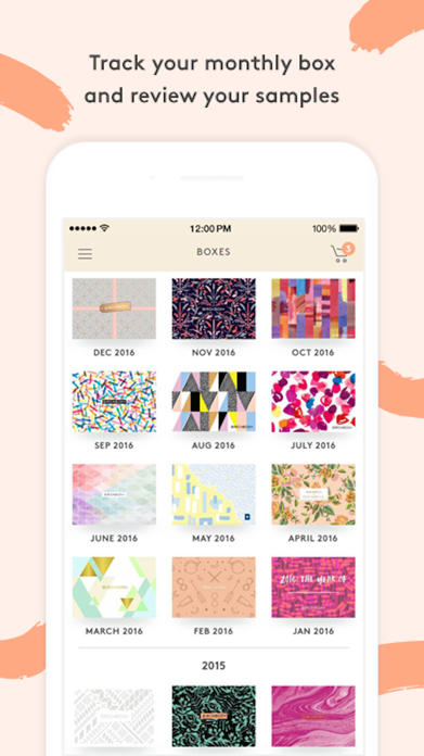 Birchbox Screenshot