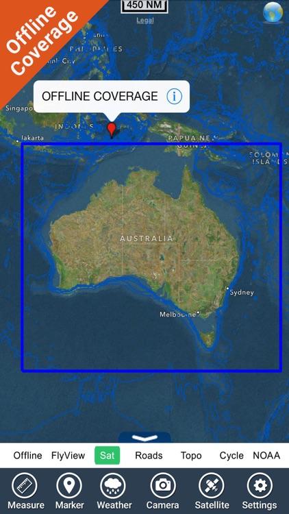 Australia Nautical Charts HD screenshot-6