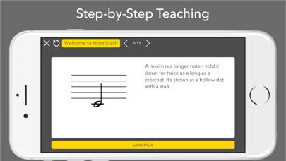 Notecoach Piano Lessons screenshot four