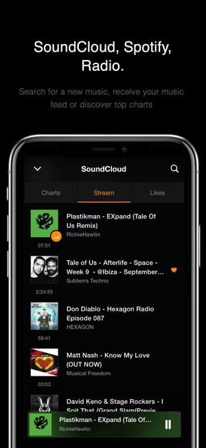 VOX – MP3 & FLAC Music Player Screenshot