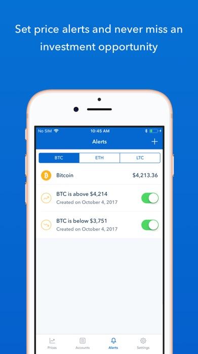 Coinbase – Buy & sell bitcoin Screenshot